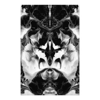 THE MYSTIC WAY (black & white art) ~ ~ ~ ~ Stationery Design