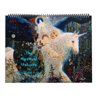 'The  Mystical Unicorn' Calendar by Elizabeth Kyle