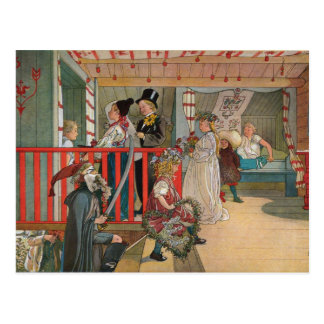 The Name Day by Carl Larsson Postcard
