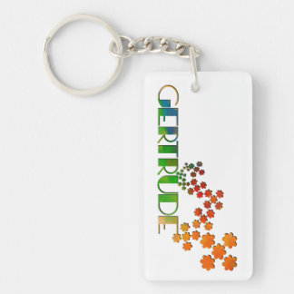 The Name Game - Gertrude Keychain