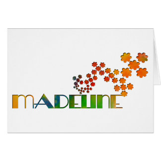 The Name Game - Madeline Card