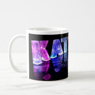 The Name Kathryn in 3D Lights (Photograph) Coffee Mug