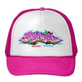 The name Makayla in graffiti-Trucker Hats