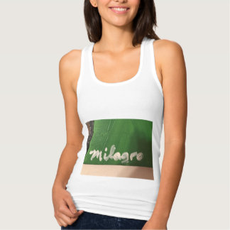 The name Milagro can't get any more Latino! Tank Top