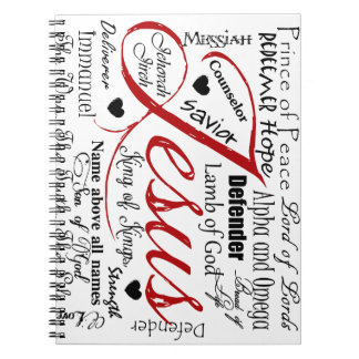 The Name of Jesus Notebook