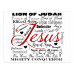 The Name of Jesus Post Cards