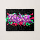 The name Taylor in graffiti-Puzzle Jigsaw Puzzle
