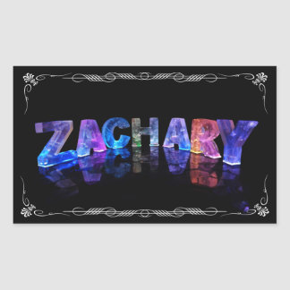 The Name Zachary -  Name in Lights (Photograph)