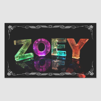 The Name Zoey -  Name in Lights (Photograph)