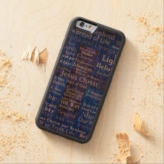 The Names of Jesus Christ blue cross art Cherry iPhone 6 Bumper Case