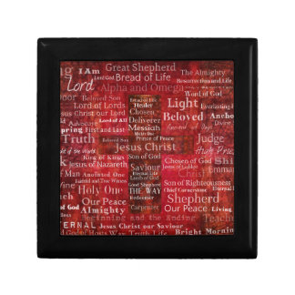 The Names of Jesus Christ From the Bible Gift Box