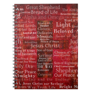 The Names of Jesus Christ From the Bible Notebooks