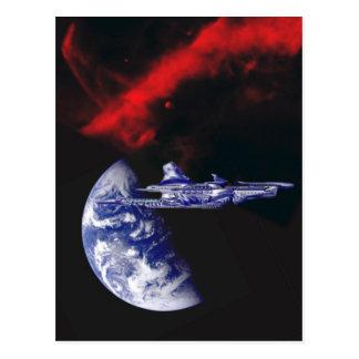 The NARC-Athena returns to the homeworlds Postcard
