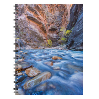 The Narrows Of The Virgin River In Autumn 3 Notebook