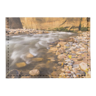 The Narrows Of The Virgin River In Autumn 4 Tyvek® Card Wallet