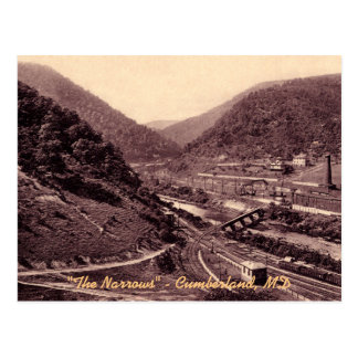 The Narrows Vintage Cumberland Postcard