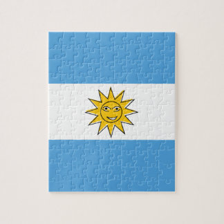 The national flag of Argentina Jigsaw Puzzle