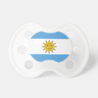 The national flag of Argentina Pacifier