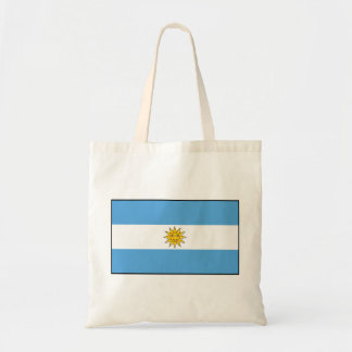 The national flag of Argentina Tote Bag