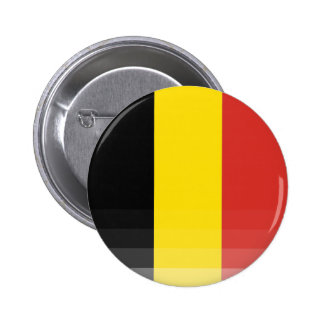 The National Flag of Belgium 2 Inch Round Button