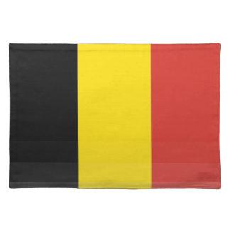 The National Flag of Belgium Place Mats