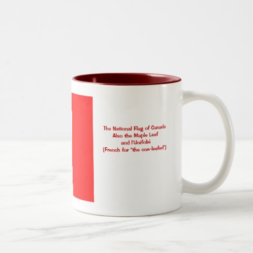 The National Flag of Canada Coffee Mug