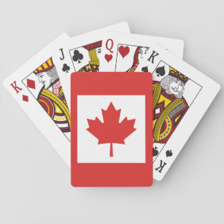 The National Flag of Canada Playing Cards