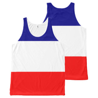 The national flag of France All-Over-Print Tank Top