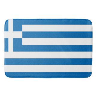 The National flag of Greece Bathroom Mat
