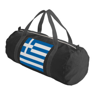 The National flag of Greece Gym Bag