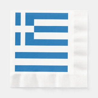 The National flag of Greece Paper Napkin