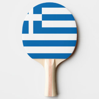 The National flag of Greece Ping-Pong Paddle