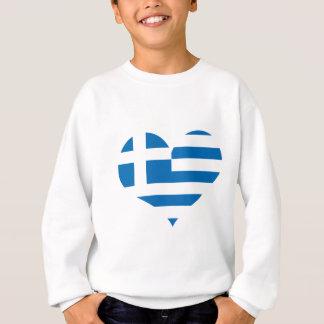 The National flag of Greece Sweatshirt