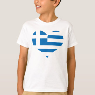 The National flag of Greece T-Shirt