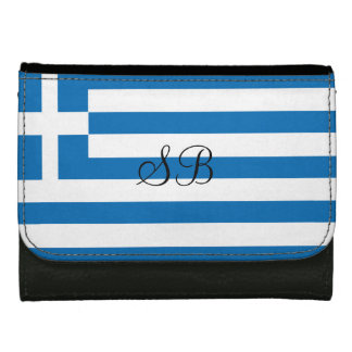 The National flag of Greece Wallet For Women