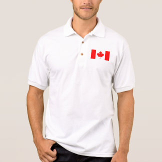 The national flag of the Canada Polo