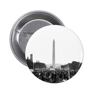 The National Mall at Justice or Else 2 Inch Round Button
