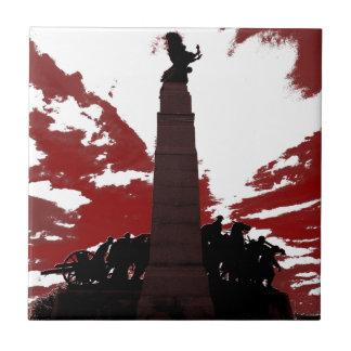 The National War Memorial Tile