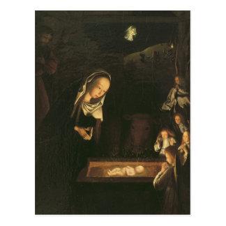 The Nativity at Night Postcard
