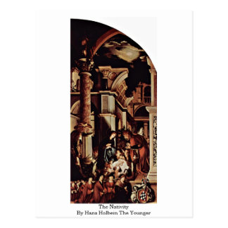 The Nativity By Hans Holbein The Younger Postcard