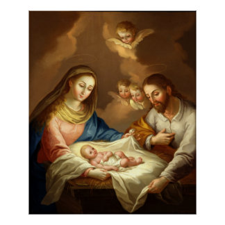 The Nativity Matte Fine Art Poster