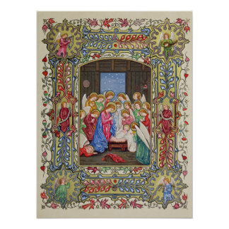 The Nativity of Our Lord Poster