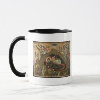 The Nativity, (oil on panel) Mug