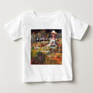 The nature in Monet's art. Baby T-Shirt