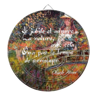 The nature in Monet's art. Dartboard