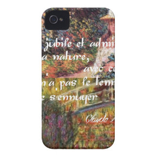 The nature in Monet's art. iPhone 4 Case