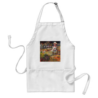The nature in Monet's art. Standard Apron