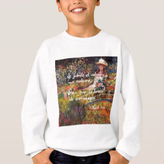 The nature in Monet's art. Sweatshirt