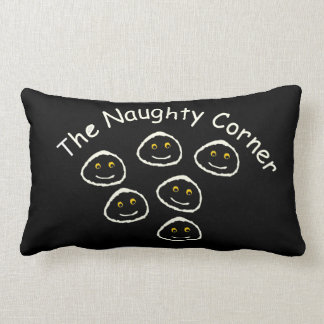 The Naughty Corner Lumbar Pillow
