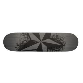 The Nautical Star Custom Skate Board